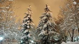 Estére itt az újabb havazás