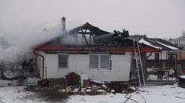 Családi ház lángolt Siófokon