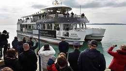 Elkezdődött a 172. balatoni hajózási szezon