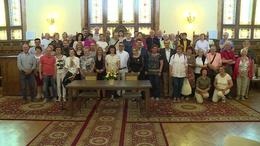 Látogatást tett Kaposváron az olasz testvérváros