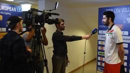 Öt kaposvárival készül a férfi röplabda válogatott