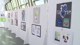 Diákok munkáiból nyílt kiállítás