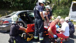 Két balesetben négyen sérültek meg