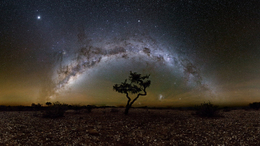 Zselici asztrofotós Namíbiában