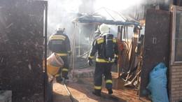 Melléképület lángolt Barcson
