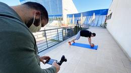 Online edzéstervekkel tartják mozgásban a fiatalokat