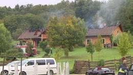 Lakóház lángolt Kaposgyarmaton