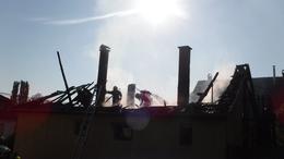 Tető lángolt Igalban
