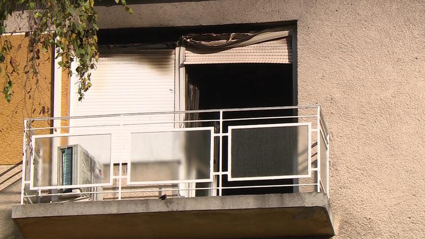 Lakástűz gyilkolt Kaposváron