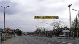 Extra jelzés segíti a közlekedést a belvárosban