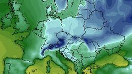 Már a kertek alatt a sarkvidéki eredetű hideg levegő