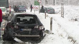 Tömeges baleset Kaposfő és Bárdudvarnok között