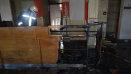 Tűz ütött ki az Egyenesi úton