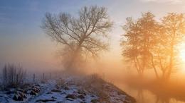 Csendes, téli idővel kezdődik a hét