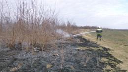 Nem unatkoztak a tűzoltók a hétvégén