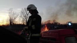 Bevetésen a tűzoltók