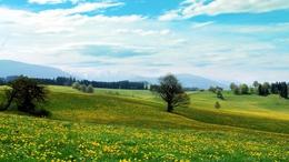 Két front közötti nyugodt, tavaszi idő