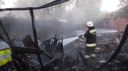 Lángok pusztítottak és gázpalack is robbant Balatonlellén