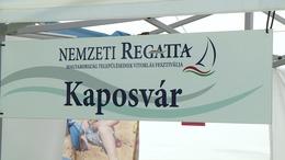 Különdíjat nyert Kaposvár a Nemzeti Regattán