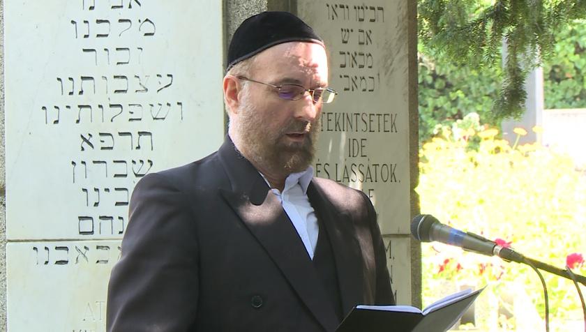 A holokauszt áldozataira emlékeztek Kaposváron