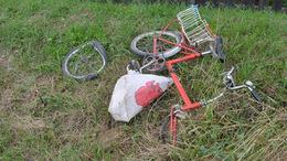 Élet és halál között lebeg az elgázolt biciklis nő