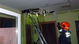 Kigyulladt egy családi ház Kaposváron