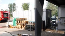 Tűz ütött ki egy szántódi áruháznál