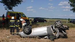 Csúnya baleset Lábod közelében