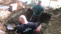Magyar és német katonákat exhumáltak Kaposváron
