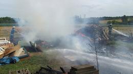 Negyven köbméter hulladék lángolt Siófokon