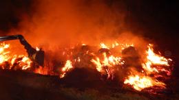 70 körbála lángolt Lengyeltótinál