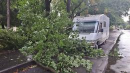 Károkat okozott a vihar a városban
