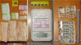 800 gramm drog és másfél millió forintnyi készpénz