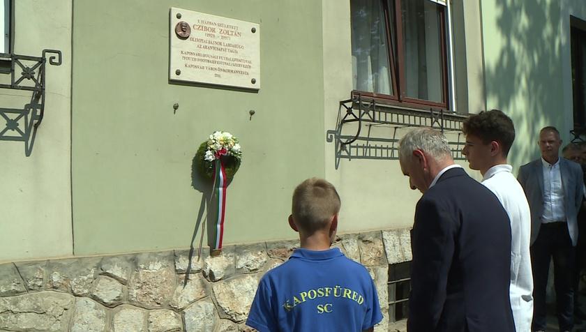 Czibor Zoltánra emlékeztek Kaposváron