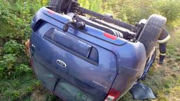 Árokba borult egy autó az elkerülőn