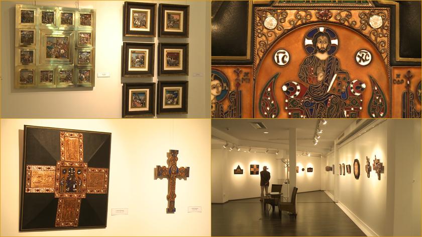 Tűzpróba címmel nyílt kiállítás a Vaszary Képtárban