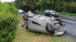 24 óra, 7 személyi sérüléses közúti baleset a megyében