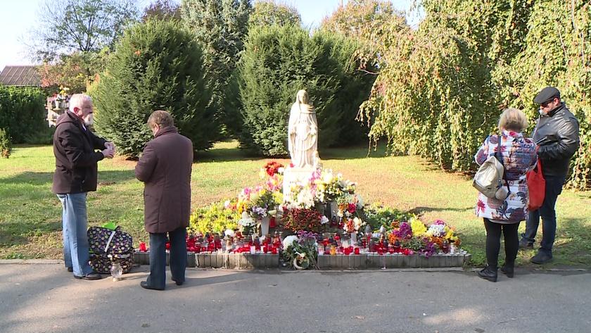 Életképek a keleti temetőből 2019. november 1-én