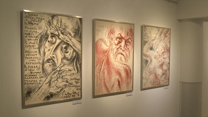 Pártay István gyűjteményes kiállítása a Vaszary Képtárban látható