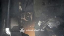 Tűz pusztított egy lakóházban Siófokon