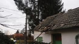 Szerdán is tovább pusztított a szél a megyében
