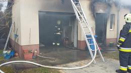 Kazánház lángolt Kadarkúton