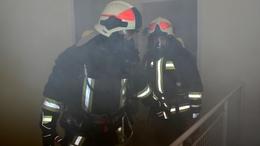 Vendégházban gyakorlatoztak az igali tűzoltók