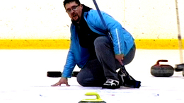 Egésznapos curling a Jégcsarnokban