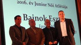 Bajnok Eszter az év junior atlétája
