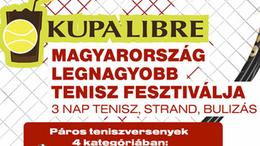 Kupa Libre Siófokon- a legnagyobb tenisz fesztivál