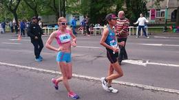 Bronzot szerzett gyaloglónk az országos bajnokságon