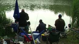 Horgászok Kaposújlakon