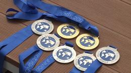 Taroltak a világbajnokságon a kaposvári uszonyos úszók