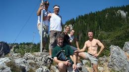 Kaposváriak az Alpokban